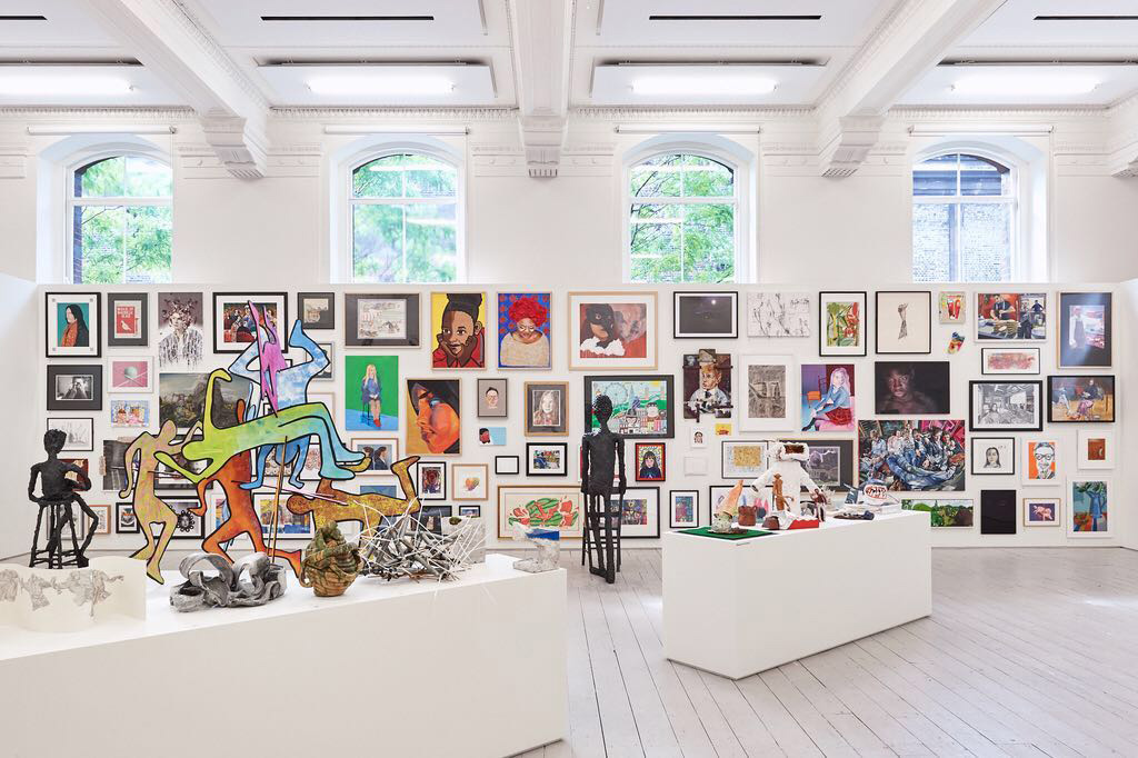 The 2019 Young Artists' Summer Show exhibition at the Royal Academy